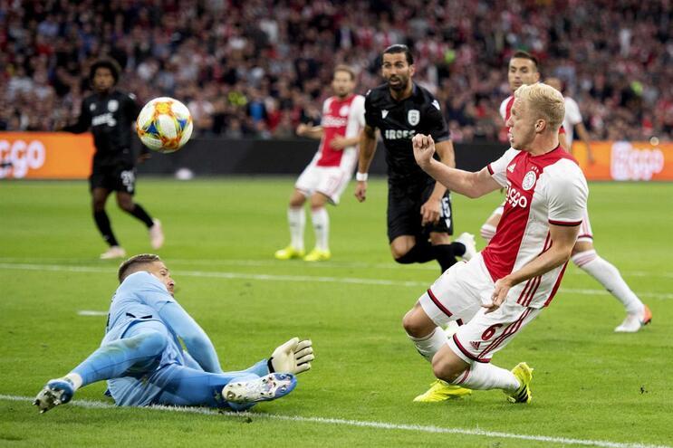 PAOK de Abel Ferreira perde com o Ajax