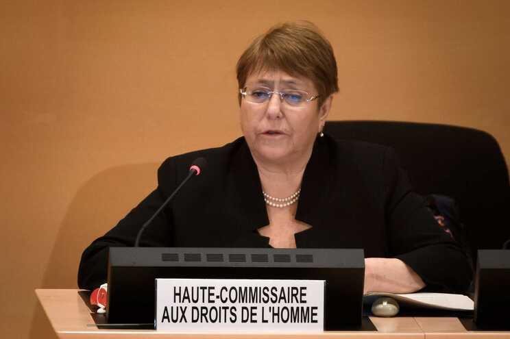 Michelle Bachelet, alta comissária para os Direitos Humanos das Nações Unidas