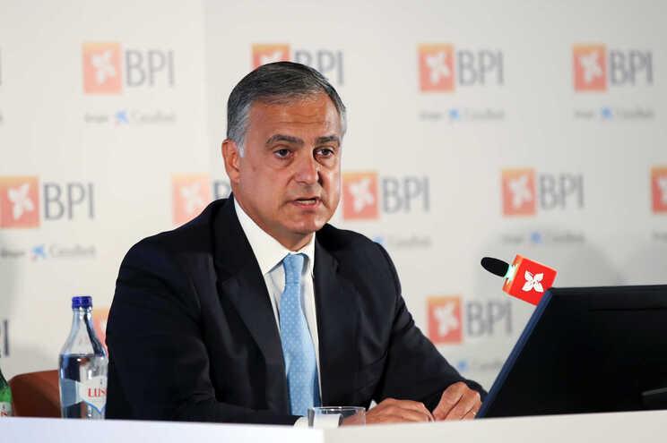 O presidente da Comissão Executiva do BPI, João Pedro Oliveira e Costa