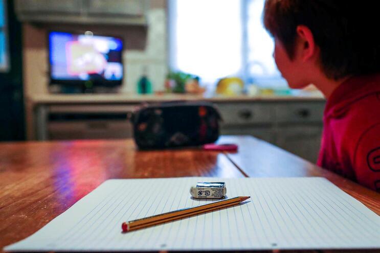 Terceiro período do ensino básico decorre com aulas à distância