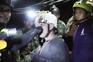 Marinha tailandesa revelou novas imagens do resgate na gruta