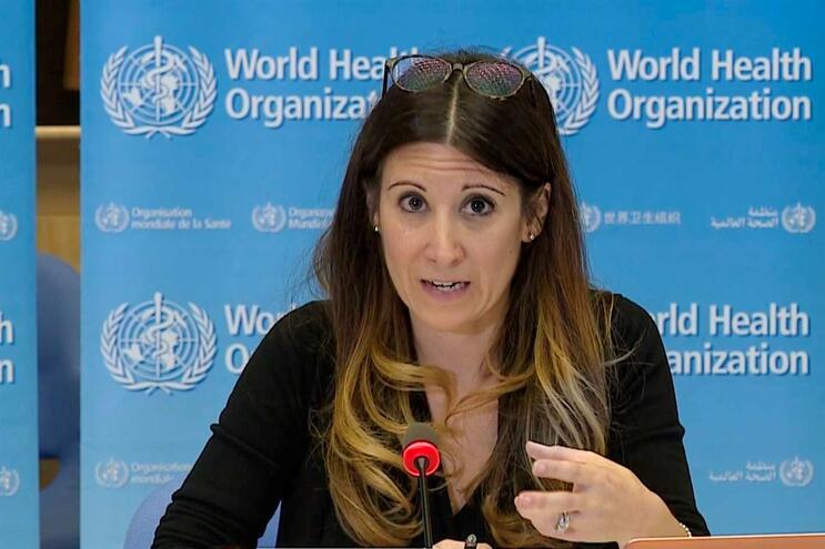 Maria Van Kerkhove, epidemiologista responsável na resposta da OMS à Covid-19
