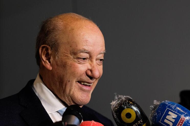 Pinto da Costa convicto que Pedro Proença vai permanecer na liderança da Liga