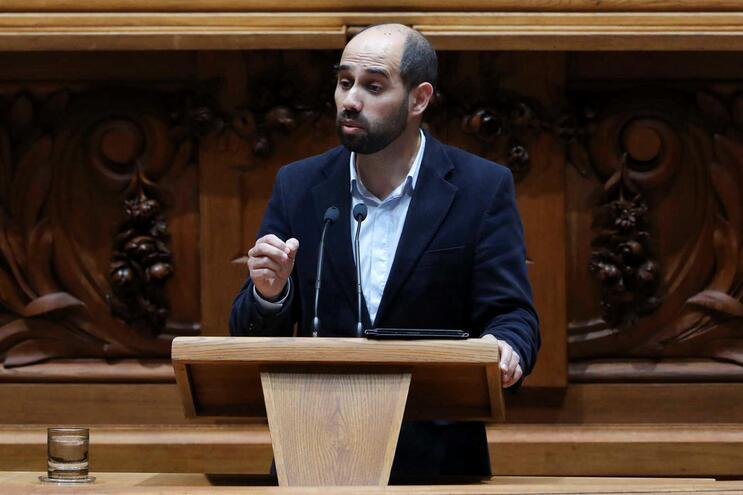 O líder parlamentar do Bloco de Esquerda, Pedro Filipe Soares