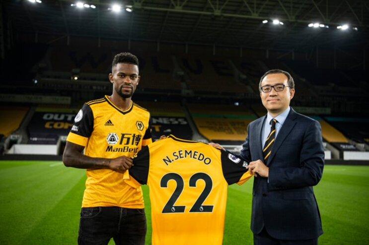 Nélson Semedo confirmado no Wolverhampton