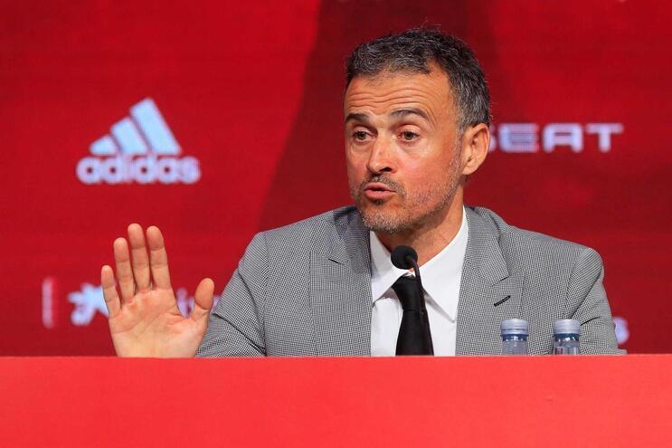 """Luis Enrique: """"Robert Moreno é desleal e não quero ninguém assim na minha equipa"""""""