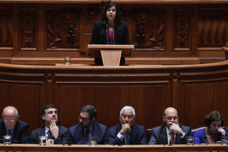 A líder do grupo parlamentar do partido PAN, Inês Sousa Real