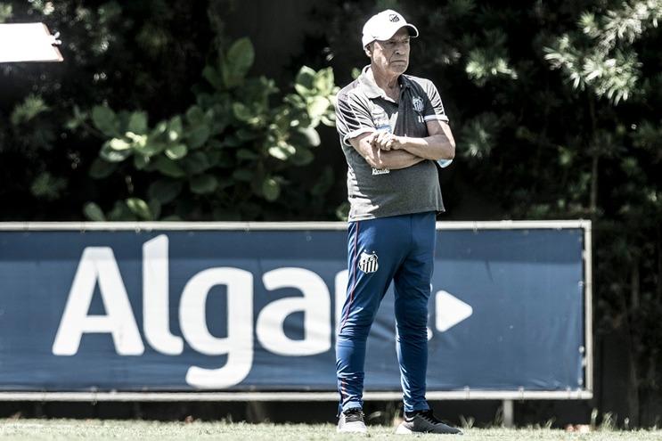 Jesualdo Ferreira obteve a primeira vitória com o Santos