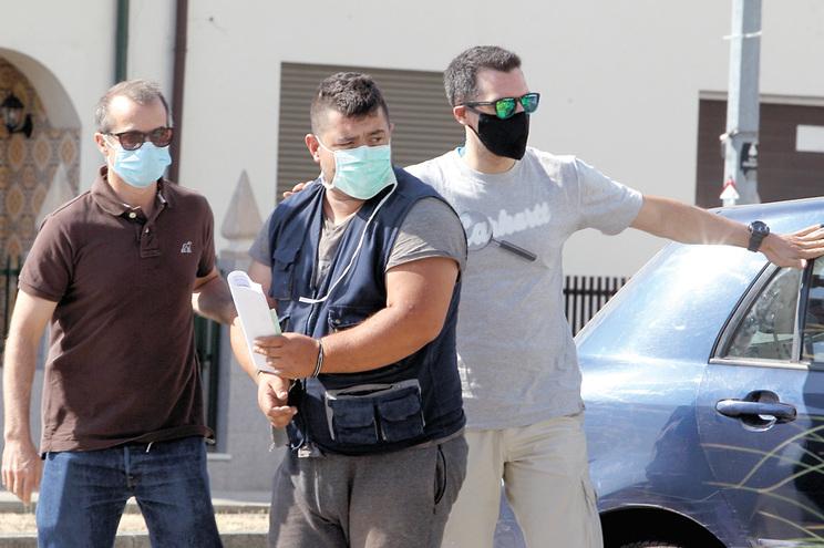 Suspeito detido pela Polícia Judiciaria do Porto foi presente a juiz no tribunal de Valongo
