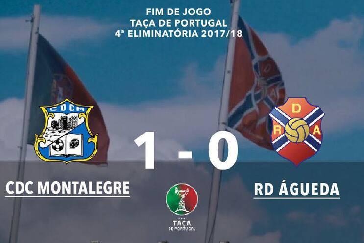 Águeda pede eliminação do Montalegre na Taça de Portugal