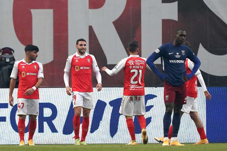 Braga goleou o Torreense e está nos quartos de final da Taça de Portugal