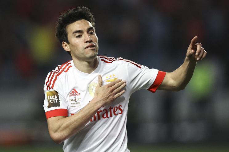 Nico Gaitan foi jogador do Benfica