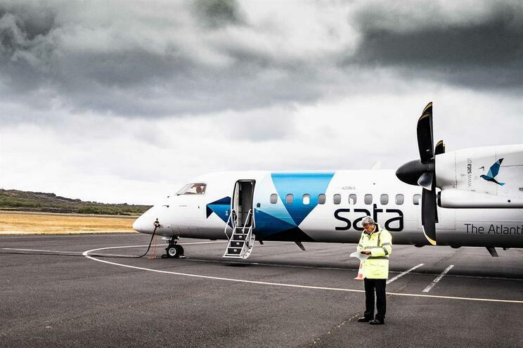 Cancelados oito voos da SATA nos Açores devido ao mau tempo