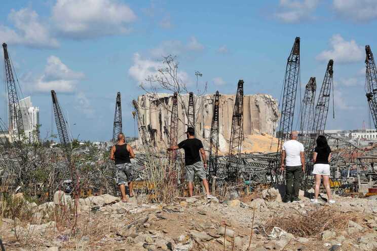 A carga apreendida pelas autoridades libanesas foi substituída por outra remessa