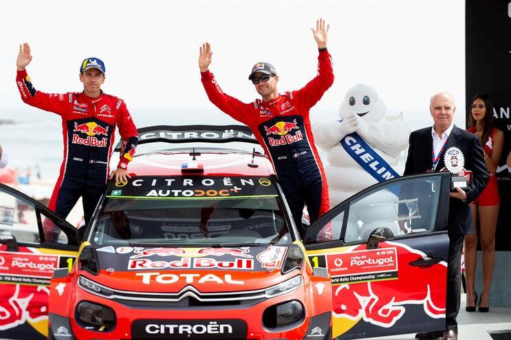 Citroën deixa Mundial de ralis após saída de Sébastien Ogier da equipa