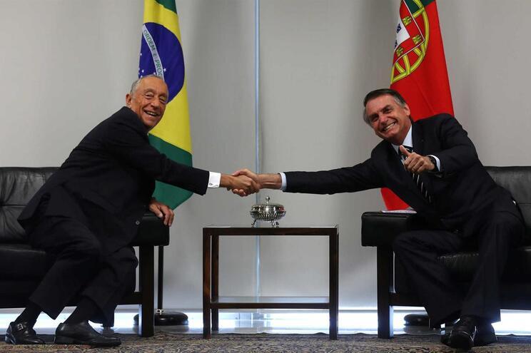 Marcelo reuniu com Bolsonaro em Brasília