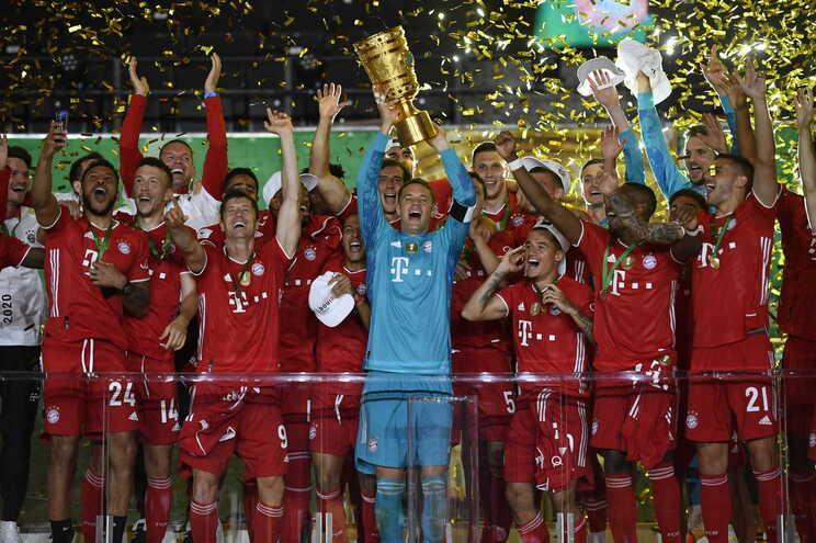 Bayern Munique venceu a Taça da Alemanha