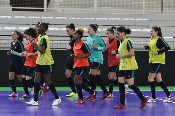 Futsal feminino em busca de um lugar ao sol num europeu histórico