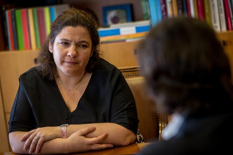 Secretária de Estado da Educação, Alexandra Leitão