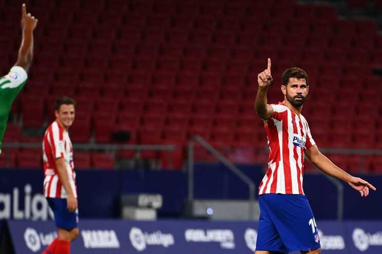 Diego Costa marcou o golo do triunfo do At. Madrid