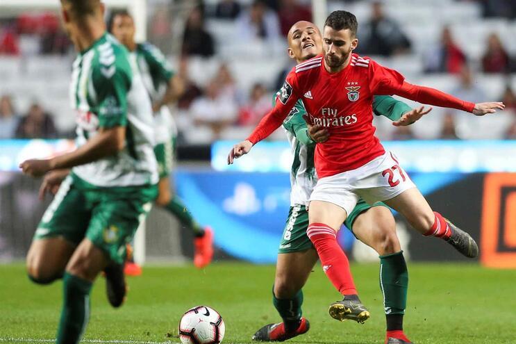 Veja os golos que vão dando vantagem ao Benfica frente ao V. Setúbal