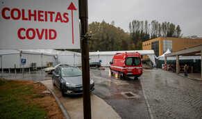 A marca dos 100 mil infetados ultrapassada por Portugal em 60 segundos