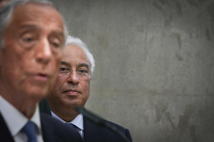 António Costa falou da recandidatura de Marcelo em visita à Autoeuropa