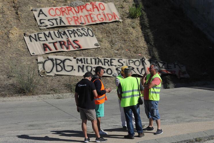 Sindicato e Antram rejeitaram propostas e greve de motoristas mantém-se