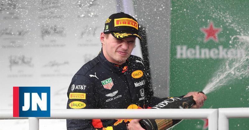 Max Verstappen vence no Brasil e sobe ao terceiro lugar do Mundial