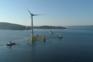Última turbina eólica do WindFloat a caminho do mar de Viana do Castelo