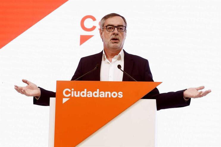 """Ciudadanos espera que resultados de partido possam """"solucionar bloqueio"""""""
