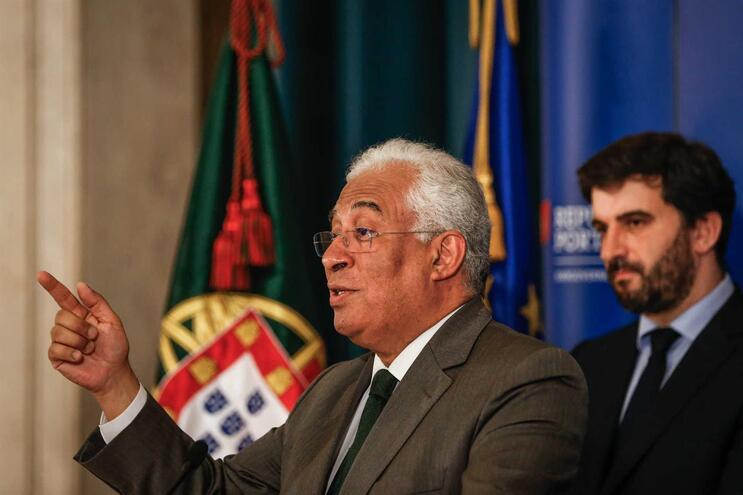 António Costa anunciou esta quinta-feira o regresso às aulas a 14 de abril
