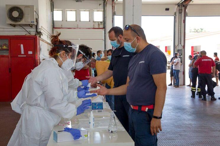 Realização de testes serológicos em Moura