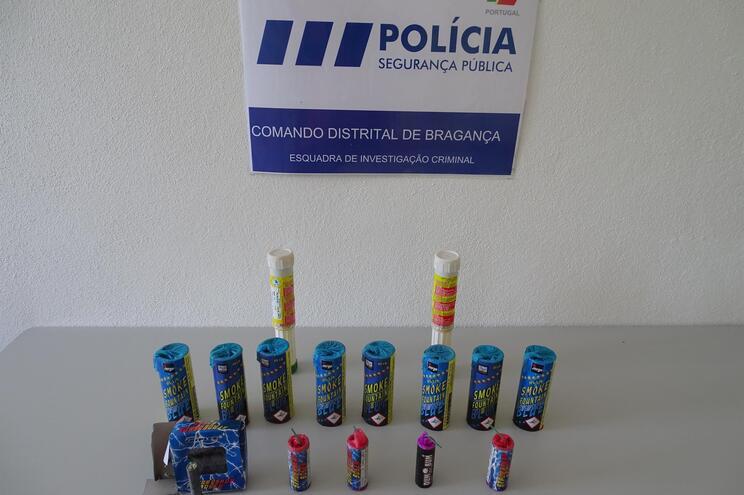 Polícia apanha dois homens com material pirotécnico nos festejos da Taça de Portugal