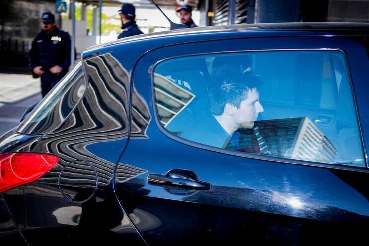 Mensagem intercetada pela polícia levou-a a descobrir onde vivia Rui Pinto