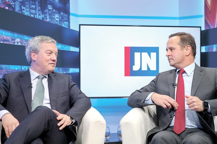Eduardo Vitor Rodrigues (Presidente Câmara Municipal de Vila Nova de Gaia) e Fernando Medina (Presidente