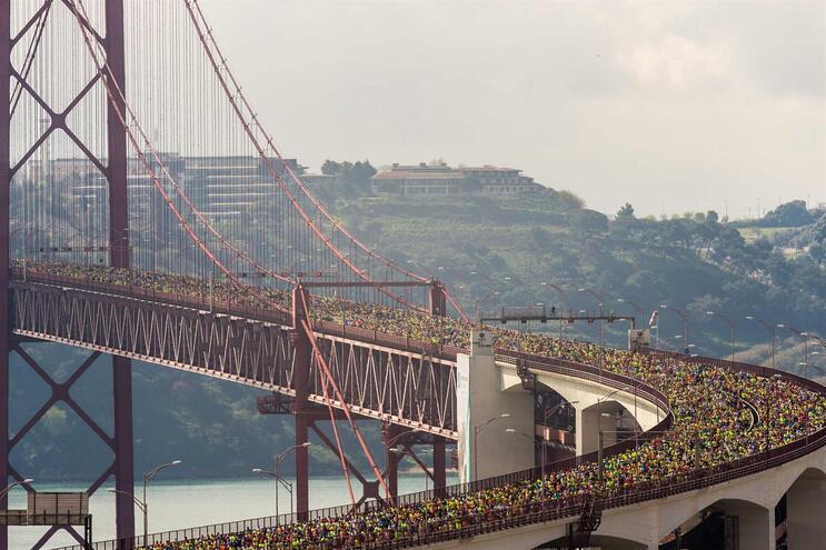 Maratona e meia maratona de Lisboa foram adiadas