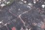 Força Aérea divulga imagens que mostram violência do fogo em Atenas