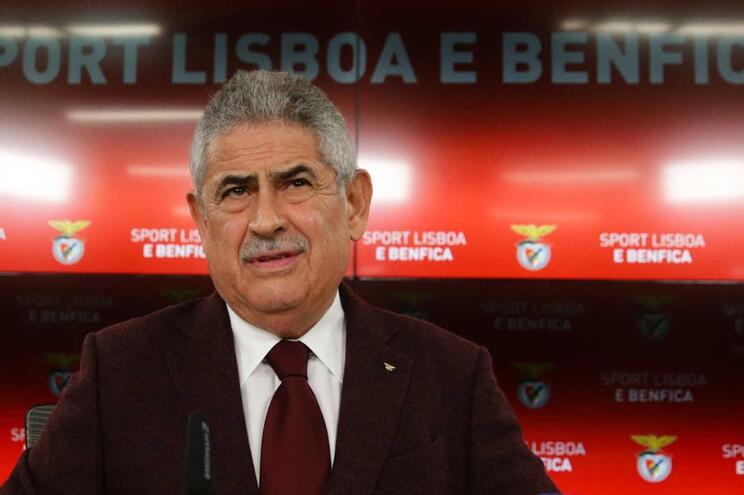 Luís Filipe Vieira explicou continuidade de Rui Vitória