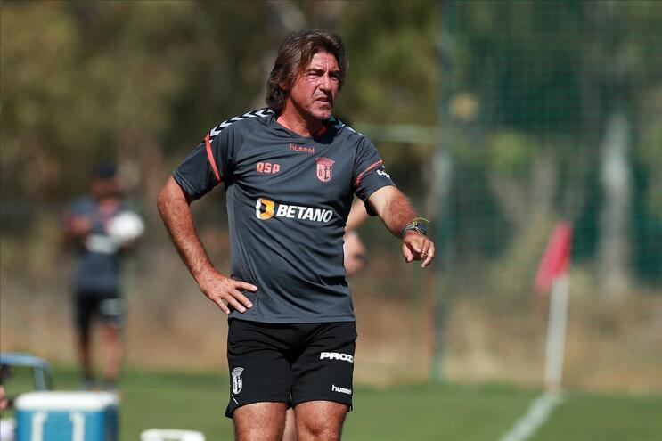 Ricardo Sá Pinto é o treinador do Braga