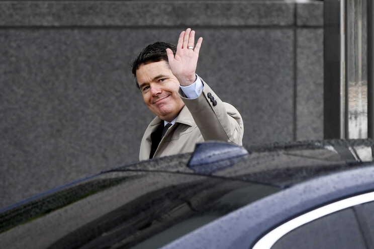 O novo presidente do Eurogrupo, o irlandês Paschal Donohoe