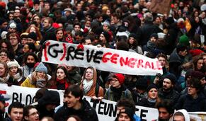 Em direto: Confrontos em protestos contra reforma da Segurança Social em França
