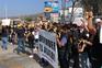 Migrantes mexicanos protestam contra políticas norte-americanas