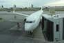 Chegada de um voo de Nantes, esta segunda-feira, ao aeroporto de Lisboa