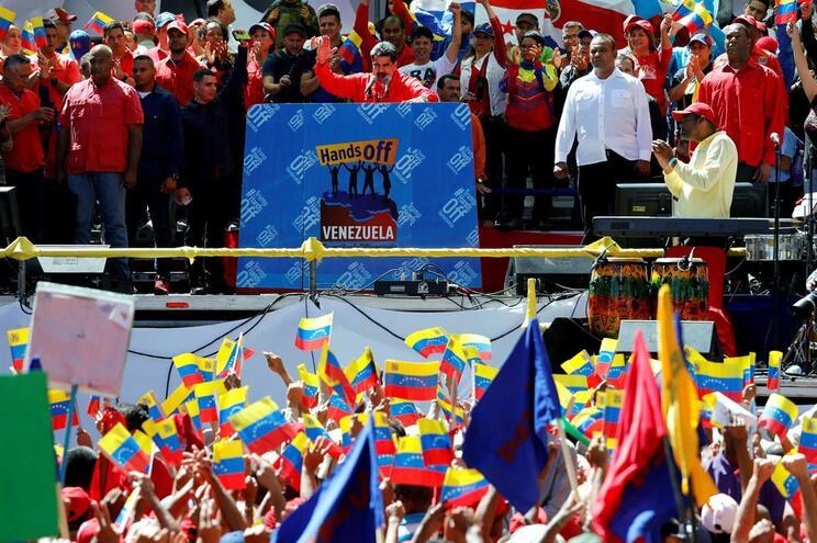 Nicolás Maduro em Caracas