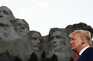 Donald Trump queria ser imortalizado no Monte Rushmore