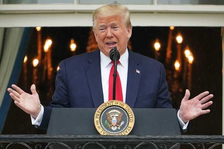 Presidente norte-americano, Donald Trump