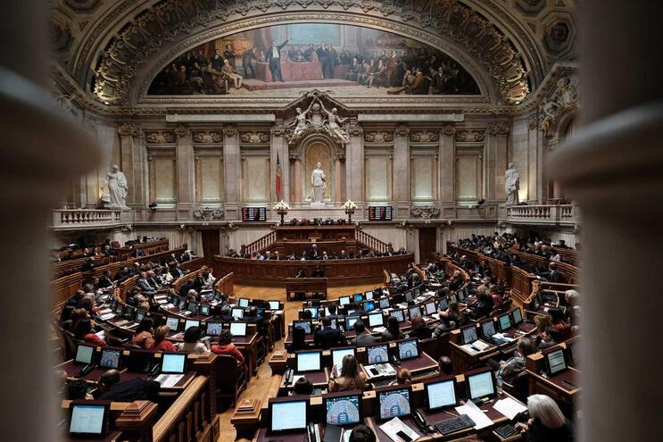 Vista geral do Parlamento