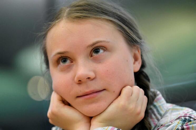 Greta Thunberg, ativista sueca de 16 anos