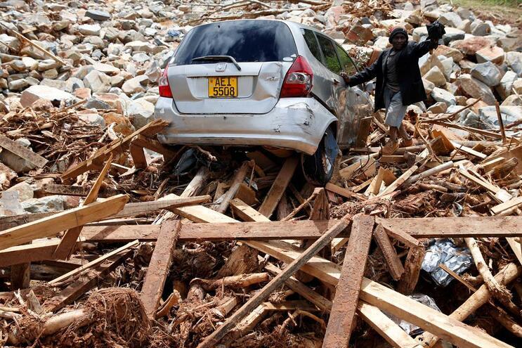 Ciclone Idai atingiu Zimbabué, Moçambique e Maláui a 14 de março